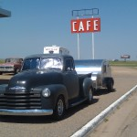 51 truck with teardrop - sleeps 3