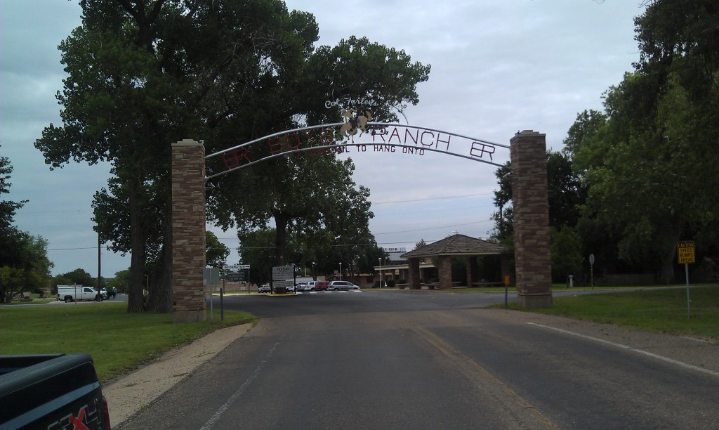 Boys Ranch Entrance Gate