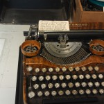 Cal Farley&#039;s typewriter 1920&#039;s