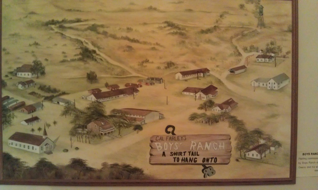 Early Map of Boys Ranch