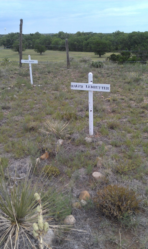 Grave for one of the men who caught Billy the Kid