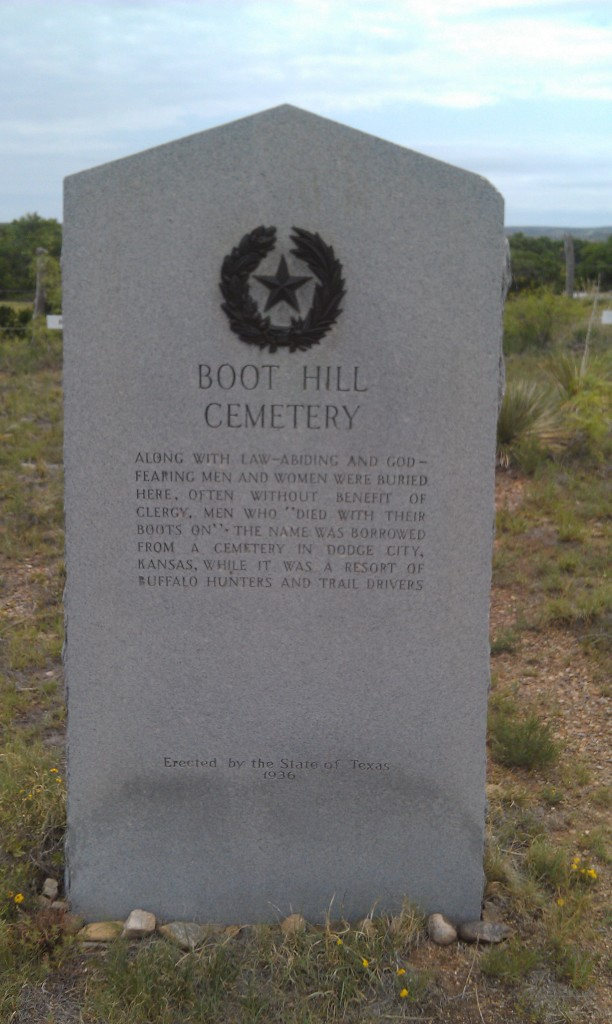 Story of Boot Hill Cemetary