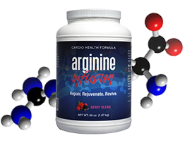 arginine infusion for heart disease