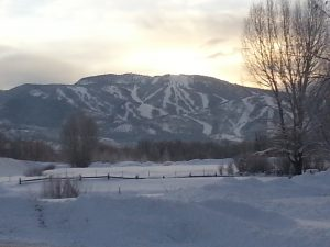 dawn at steamboat