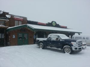 snowed in at the roadhouse
